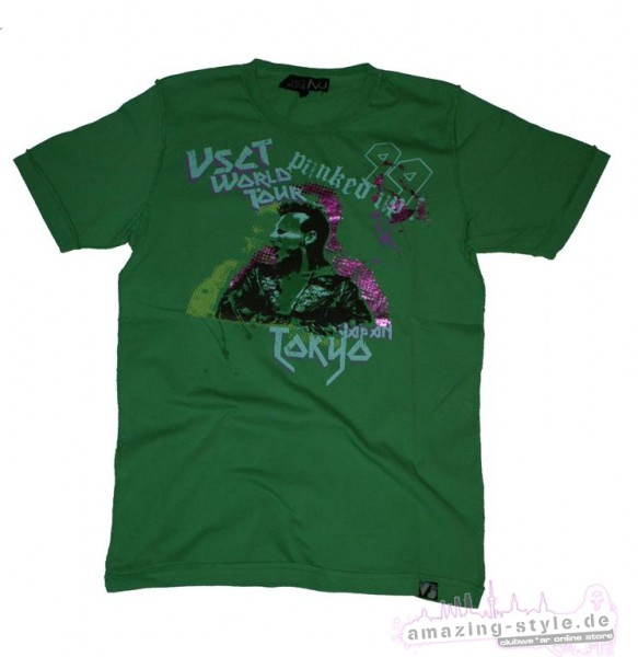 VSCT Punked Up 99 enzym T Shirt green