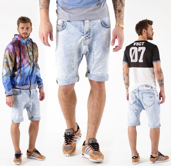 VSCT Spencer Bermuda Bleach Moonwash Jeans Shorts