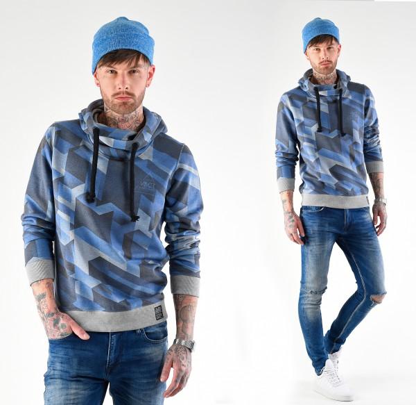 VSCT Clubwear Twisted Geomatrix Hoodie