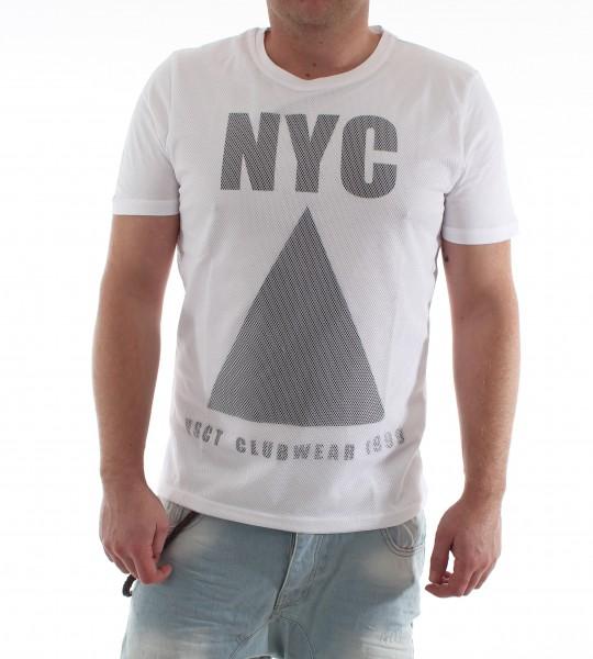 VSCT NYC Mesh Shirt white