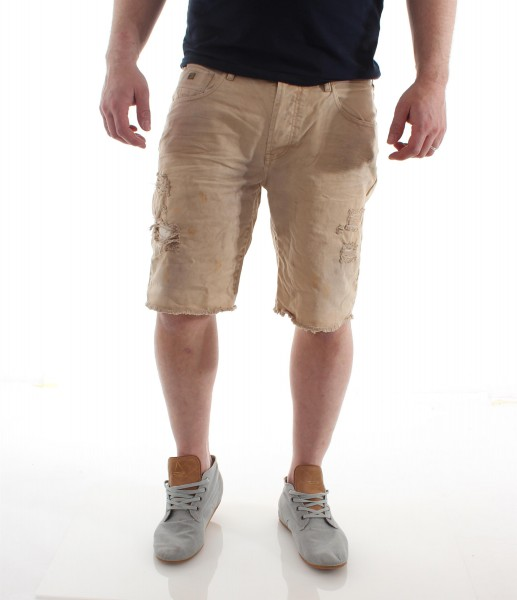 Scotch & Soda Rough denim treated 5-pocket shorts