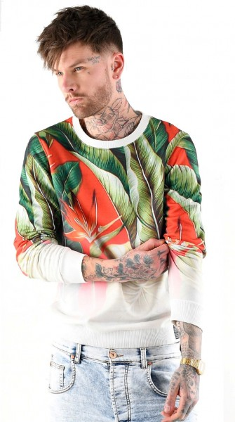 Tropic Graded Crewnck Sweat Pullover