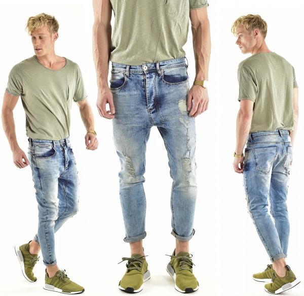 VSCT Clubwear Keanu Lowcrotch Jeans blue vintage