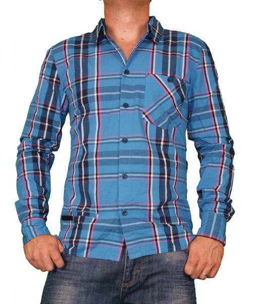 RVLT Revolution Robby Hemd blue