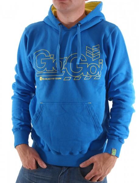 Gio-Goi Reatle Hoodie Sweat mountain blue