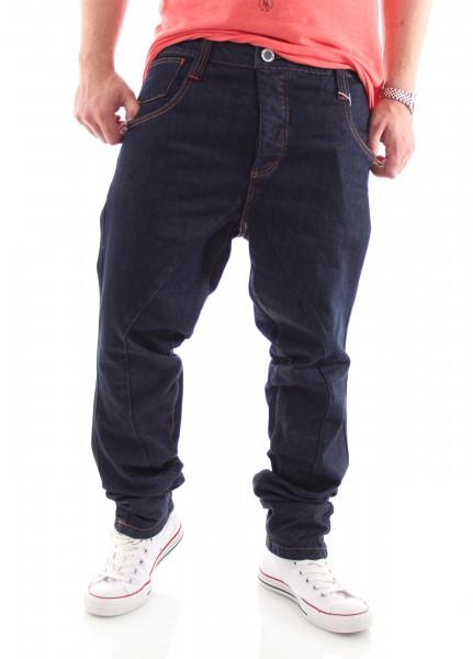 Humör Split X-Leg Jeans garment blue