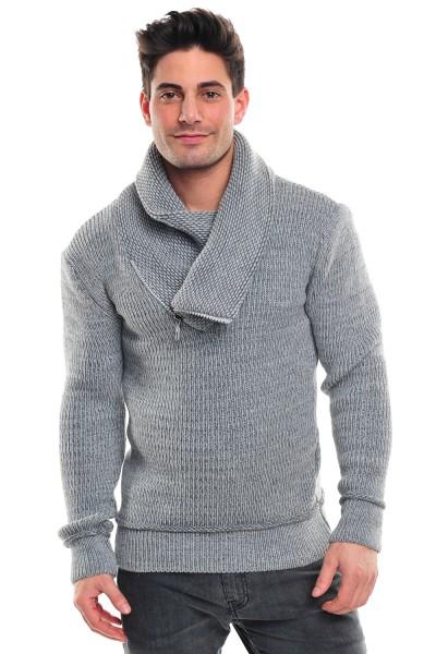 Wasabi Knit 564 Pullover lightgrey