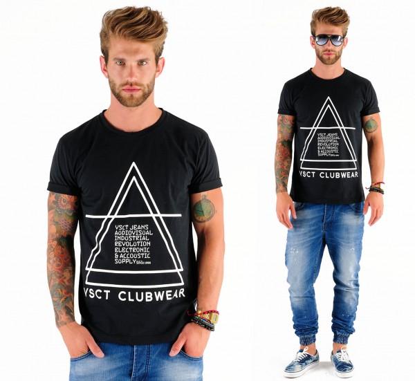 VSCT Pyramid Logo T black