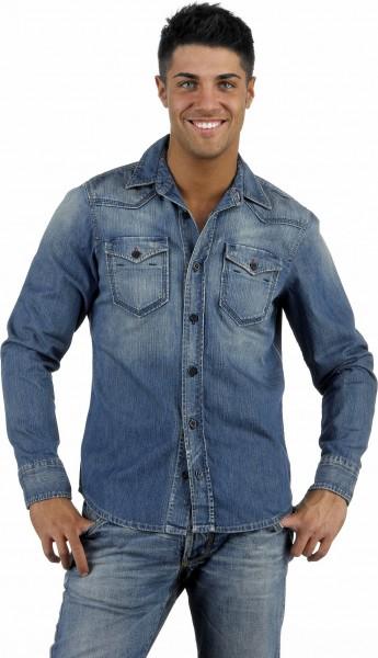 Energie Radom Camicia Jeans Hemd