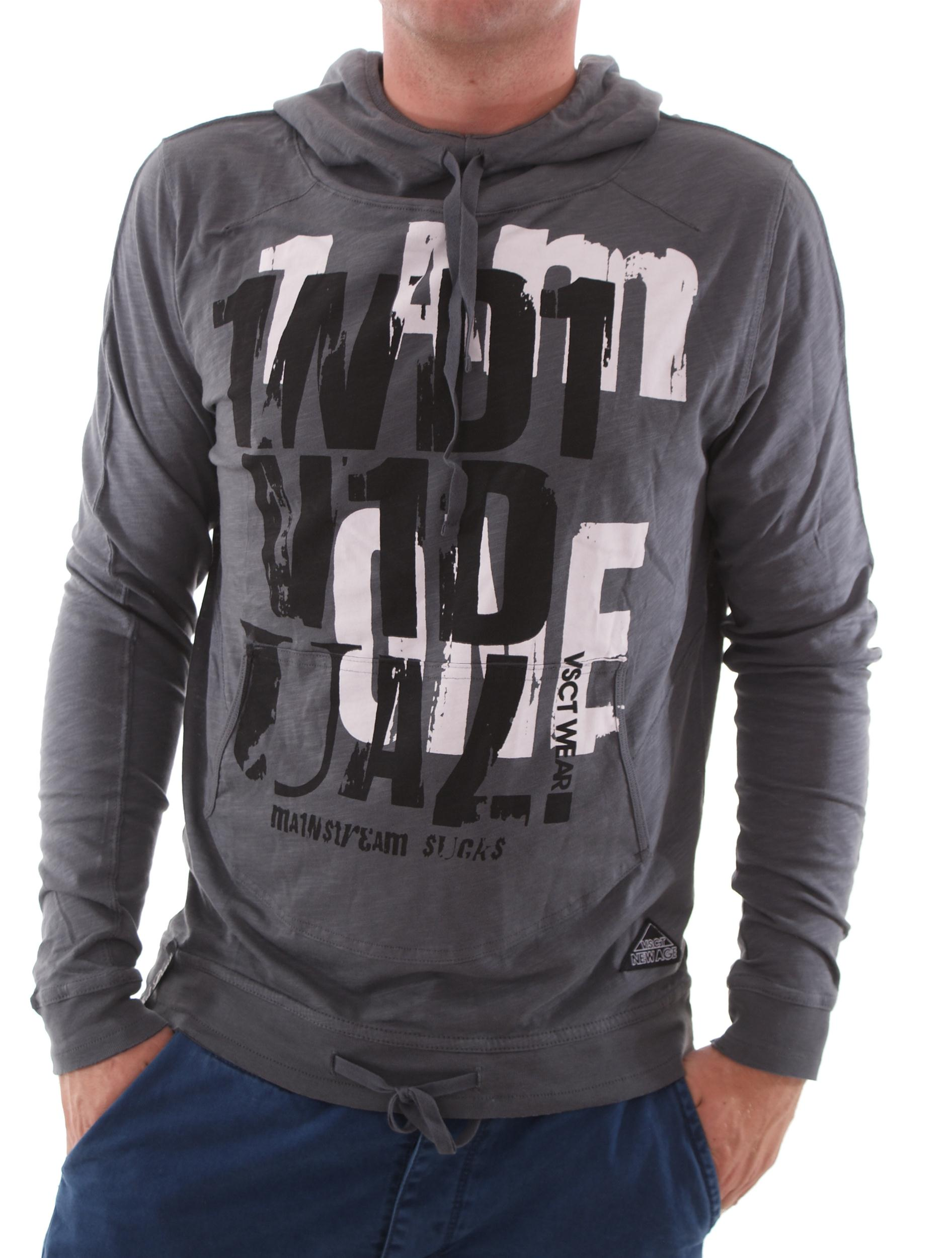 VSCT Flamed Individual Hoodie anthrazit