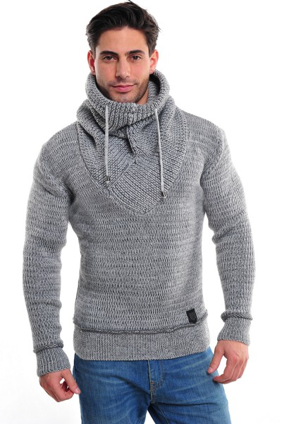 Wasabi Knit 555 Pullover lightgrey