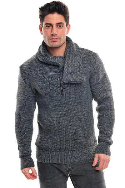 Wasabi Knit 564 Pullover darkgrey
