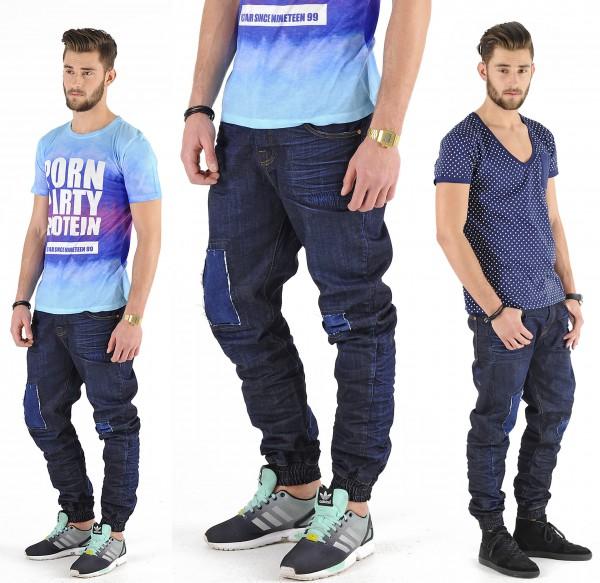 VSCT Clubwear Noah Cuffed Jeans Watersave