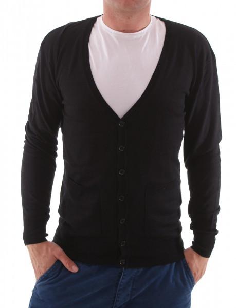 Eleven Paris Basic Cardigan Knit black
