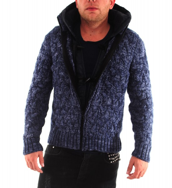 VSCT 2in1 Slim Cable Duffle Cardigan Jacke