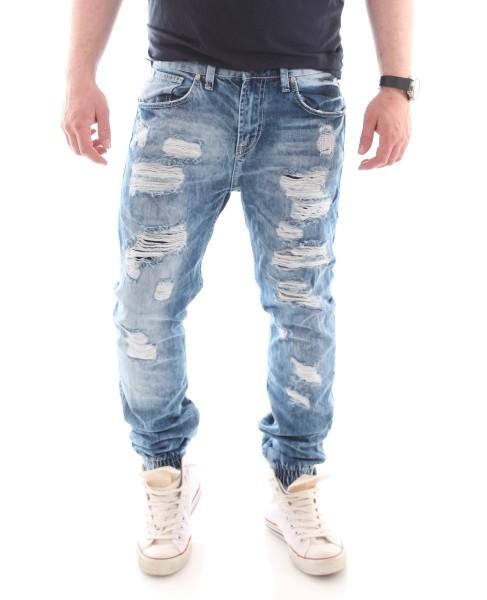 ReRock Perver Denim Jeans Deytroyed