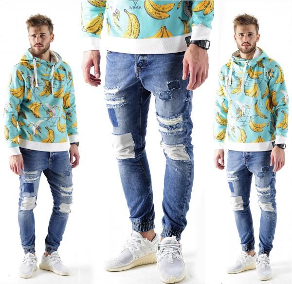 VSCT Clubwear Noah cuffed Jeans Vintage 5 P74