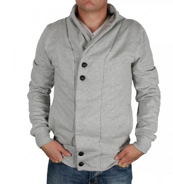 RVLT Revolution Bastian Sweat Jacket grey