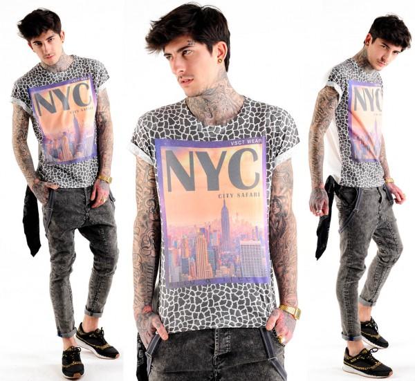 VSCT NYC City Safari Print T Shirt