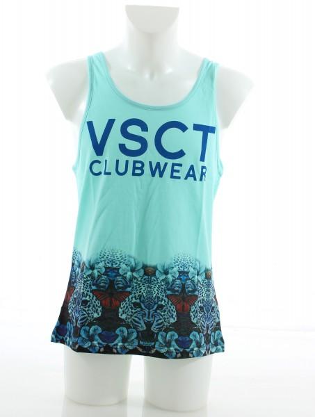 VSCT Logo Tiger-Blossoms Tank Top laguna