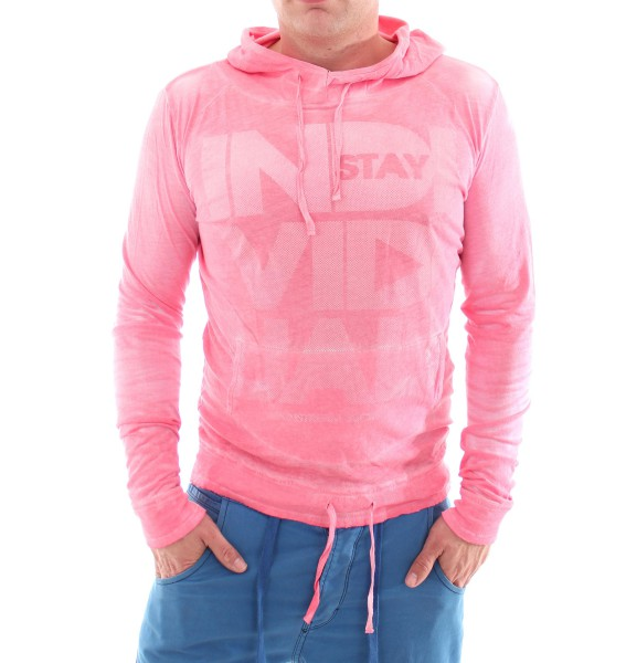 VSCT Magic Touch Hooded Sweater pink