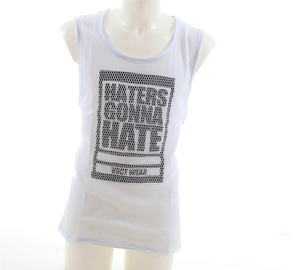 VSCT Mesh Tank Top Shirt Haters weiss