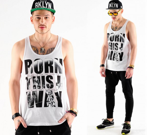 VSCT Born This Way Tank white