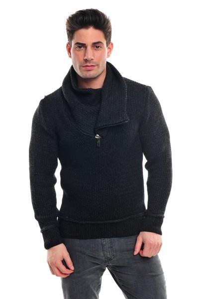 Wasabi Knit 564 Pullover black