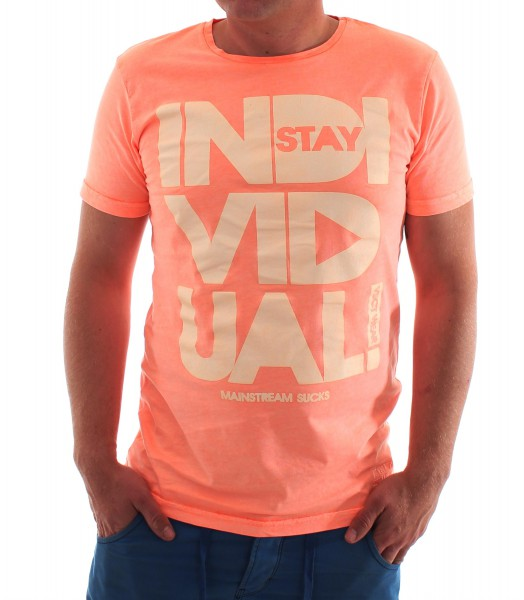 VSCT Fluo Individual T Shirt orange