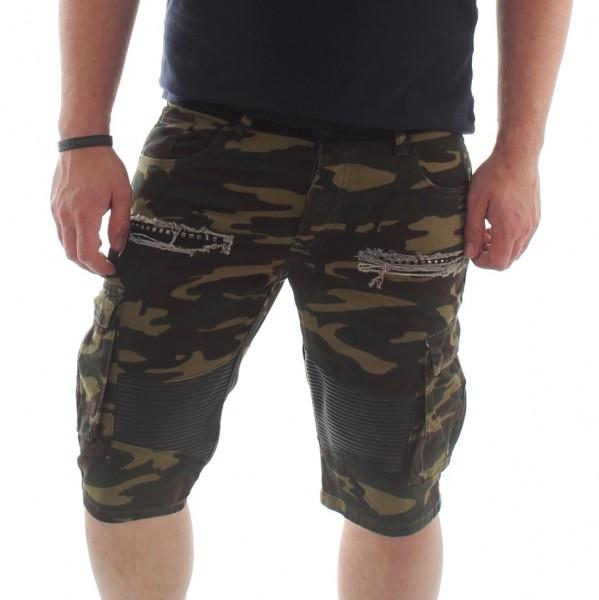VSCT Clubwear TC Biker Camo Cargo Shorts