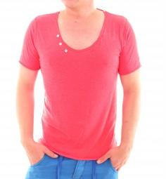 VSCT Buttoned Basic Melange Shirt salsa