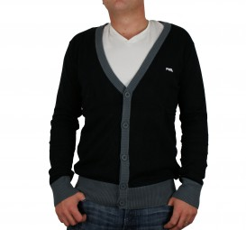 RVLT Revolution Gus Cardigan black